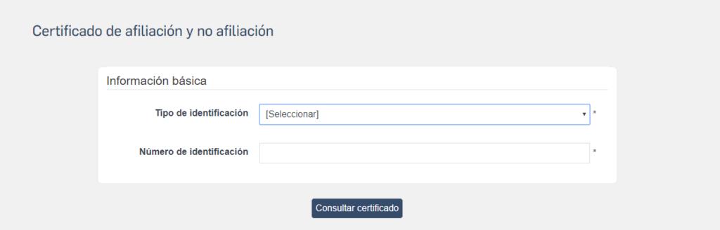 Certificado de afiliación a colpensiones - Descargar + Tutorial