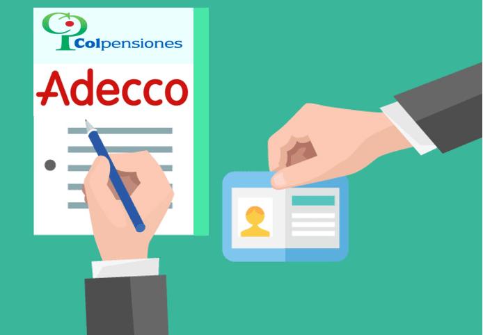 imagen Adecco Colpensiones - Presentarse a la convocatoria + Requisitos
